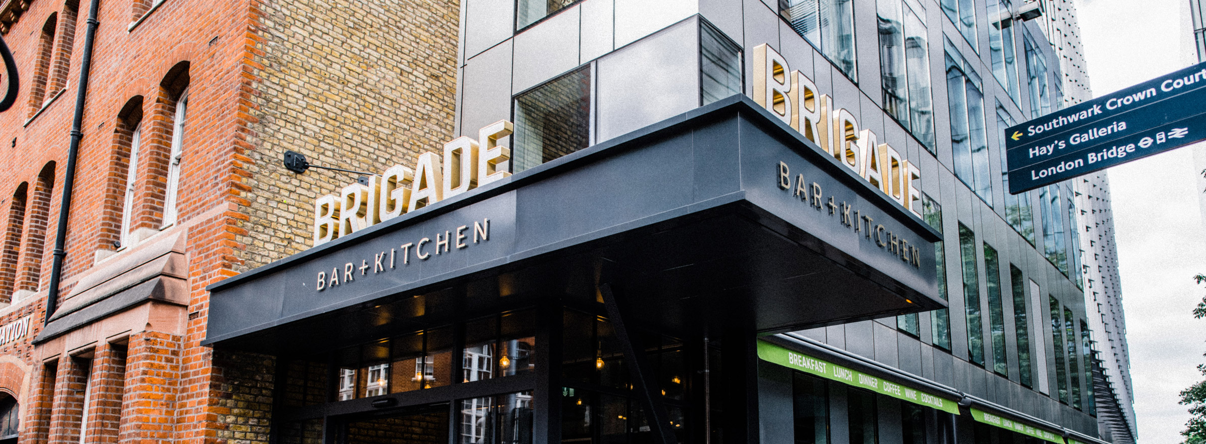 Contact us - Brigade Bar & Kitchen